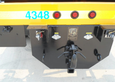 16′ Flat Deck – Pintle Hitch and License Plate Bracket
