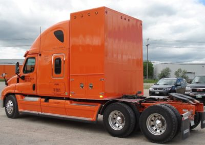 Drome Box – Colour matched box and driver-side door